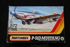 YN078 MATCHBOX 1/72 maquette avion 40013 P-51D Mustang