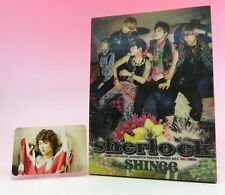 CD+DVD SHINee Sherlock JAPAN LIMITED EDITION with Minho Photo card