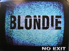 BLONDIE, NO EXIT POSTER (C3)