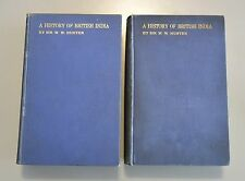 A HISTORY OF BRITISH INDIAN in Two Volumes 1899-1900 1st Ed. East India Company