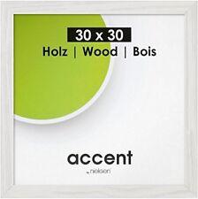 Nielsen Accent Magic       30x30cm Holz Weiß Bilderrahmen Wandrahmen Galerie Fot
