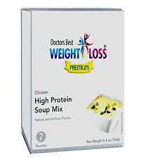 Doctors Best Premium - Chicken Flavor High Protein Diet Soup