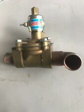 "Lancer Skinner Cp8  24 VDC Solenoid 1""1/8 Brass Valve 2LH1C130 24 Volt"