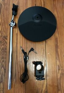 "Alesis 10/"" Crash Cymbal w//Choke NEW 21/"" w//Arm Clamp//Cable Nitro Electronic Drums"
