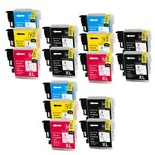 15PK NON-OEM for Brother LC61 MFC-490CW MFC-495CW MFC-295CN MFC-5490CN MFC-J415