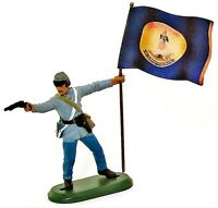 BRITAINS DEETAIL Civil War Toy Soldiers Confederate Virginia Regiment 1/32