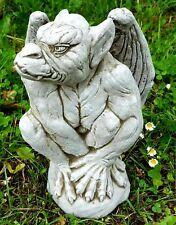 STANDING GARGOYLE STATUE Ghotic Stone Dragon Highly Detailed Garden Ornament