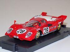 1/43 Brumm Models Ferrari 512S #28 Daytona 1970 Andretti Merzario Ickx AS IS
