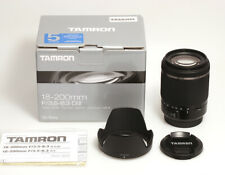 Tamron 18-200mm For / 3,5 -6, 3 Di II For sony a-Mount