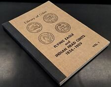 Library of Coins, 1856-1909, Flying Eagle and Indian Head Cents album! Vol 1.!