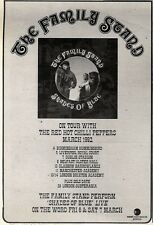 7/3/92Pgn06 Advert: The Family Stand shades Of Blue New Single Out Now 7x5