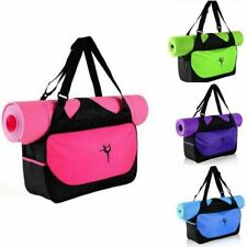 Yoga Mat Bag Tote Sport Gym Travel Bag Carryall Bags Canvas Yoga Mat Holder