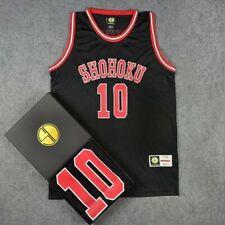 Slam Dunk Shohoku Basketball Replica Jersey  NO.10 Sakuragi Cosplay Costume