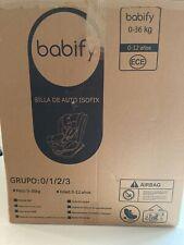 Babify Onboard Silla de Coche Giratoria 360º – Grupos 0/1/2/3 - Reclinable