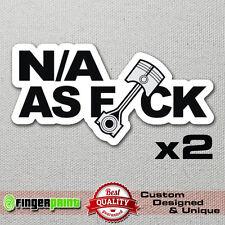 N/A as FCK decal sticker vinyl JDM