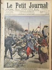 LE PETIT JOURNAL.SUPPLEMENT ILLUSTRE.N°960.1909.FANATISME MUSULMAN.