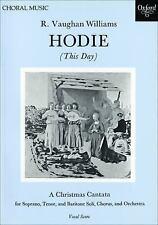 Hodie: Vocal score