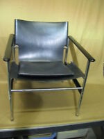 """Vintage Charles Pollock Model 657  """"Sling"""" Chair by Knoll Mid-Century Modern"""