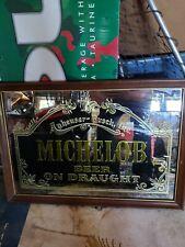 Michelob vintage smokey design mirror