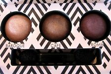 ~LAURA GELLER~BAKED EYESHADOW PALETTE~BAROQUE/ CAFE/ ROMA Mirrored Compact