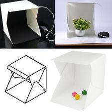"""9"""" Cube Mini Box Photography Lighting Tent Kit Backdrop Light Room Photo Studio"""