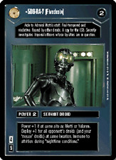5D6-RA-7 (Fivedesix) [played] PREMIERE LIMITED BB star wars ccg swccg