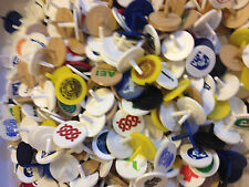 Golf Ball Markers 100 Plastic Putter Dime Size Different Colors Putting Green