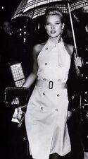 Burberry London Beige Sleeveless Trench Dress Spring/Summer Size 4