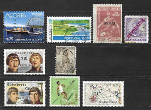Azores & Cape Verde Islands .. Good stamps .. 4409