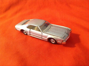 rare nice 1/43 Sabra made in Israel #8109 Oldsmobile Toronado Coupé 1970 silver