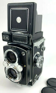 Yashica-Mat EM TLR Camera All-Mechanical w/leather caseMinty