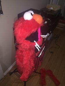 Elmo Muppet Puppet. (Handmade)