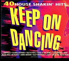 Keep On Dancing / 40 House Shakin' Hits - 2CD - Fat Box