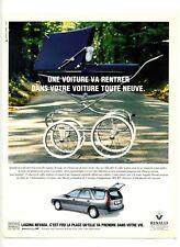 1995 : Voiture Renault Laguna Nevada – Automobile (advertising)