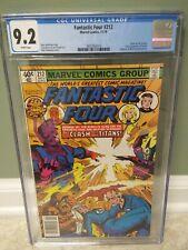 Fantastic Four #212 CGC 9.2 Galactus vs Sphinx Origin(1979) 2nd TERRAX Byrne