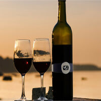 Automatic Electronic LCD Red Wine Bottle Thermometer Digital Temperature Meter