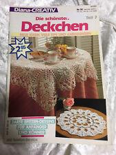 Diana Creativ Nr. 35 Die schönsten Deckchen Teil 7 kl. Zeitschrift häkeln