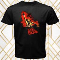 The Evil Dead Horror Movie Logo Men's Black T-Shirt Size S - 3XL