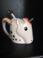 New Nib Be A Unicorn New Mug Rainbow Head