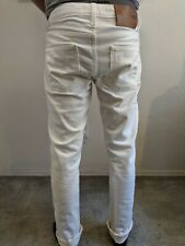 Naked and Famous superskinny White Stretch Selvedge size 31
