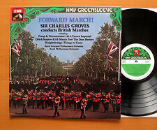 ESD 7075 Forward March! Sir Charles Groves Conducts British Marches NM/EX Stereo