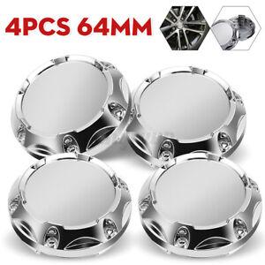 4X 64mm Universal Car Auto Wheel Center Rim Hub Cap Hub Caps Cover Without