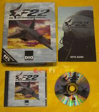 F22 DID AIR DOMINANCE FIGHTER Pc Versione Inglese Big Box »»»»» COMPLETO