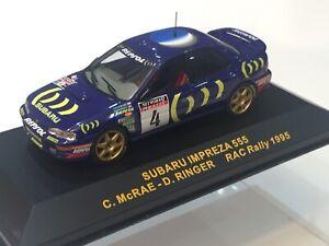 1/43 SUBARU IMPREZA 555 LOMBARD RAC NETWORK Q RALLY GB 1995 COLIN McRAE