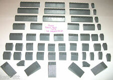 Lego Dark Blue Gray Slopes 1x2 3040 3039 3038 3037 30363 4445 2x8 2x3 4 7898 lot