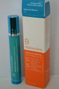 BNIB Dr Dennis Gross Hyaluronic Marine Dew It Right Eye Gel 15ml RRP £59