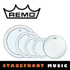 """REMO ENCORE DRUM HEAD PRO ROCK PACK 1 - 12"""", 13"""",14"""", 16"""", 22""""  SKINS EN-PS20-PP"""