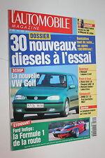 L'Automobile 599-Renault Spider-Volvo S40-Fiat Barchetta-MGF-Accord-525 TDS-JEEP