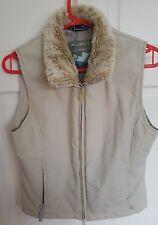 Dare 2be Water repellent Women's Gilet Sleeveless Jacket Cream Khaki UK 8 EUR 34