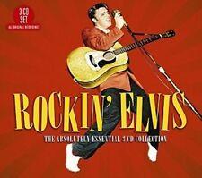 ELVIS PRESLEY ROCKIN' ELVIS ABSOLUTELY ESSENTIAL REMASTERED 3 CD DIGIPAK NEW